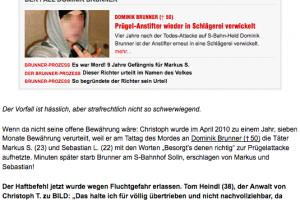 Rechtsanwalt Heindl verteidigt Christoph T. erneut - Aktuelles & Presse von Steinberger & Heindl