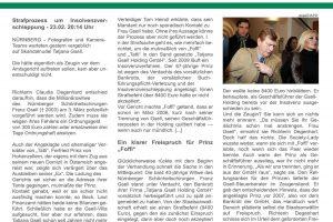 Freispruch für Prinz v. Hohenzollern - Aktuelles & Presse von Steinberger & Heindl