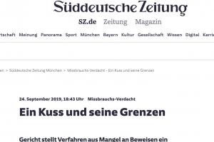 Süddeutsche Zeitung Pressebericht Bild | Tom Heindl Strafrecht München