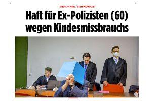 Kindesmissbrauch Pressebericht Bild | Tom Heindl Strafrecht München