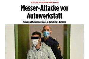 Messer Attacke | Pressebericht Bild | Tom Heindl Strafrecht München